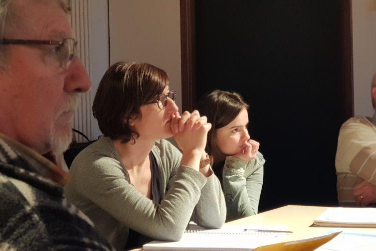 Ambiance studieuse - réunion ADESS OCA